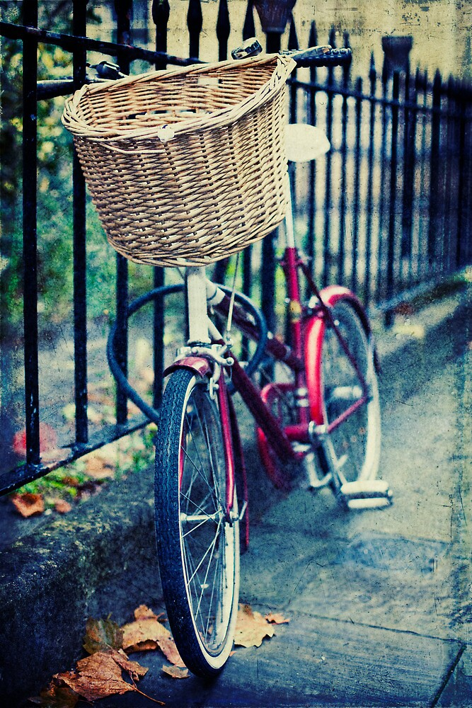 Bicycle by Sharonroseart