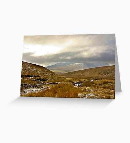 Winter in The Dales Greeting Card