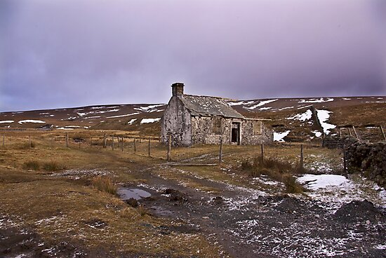 Dales Ruin by Trevor Kersley