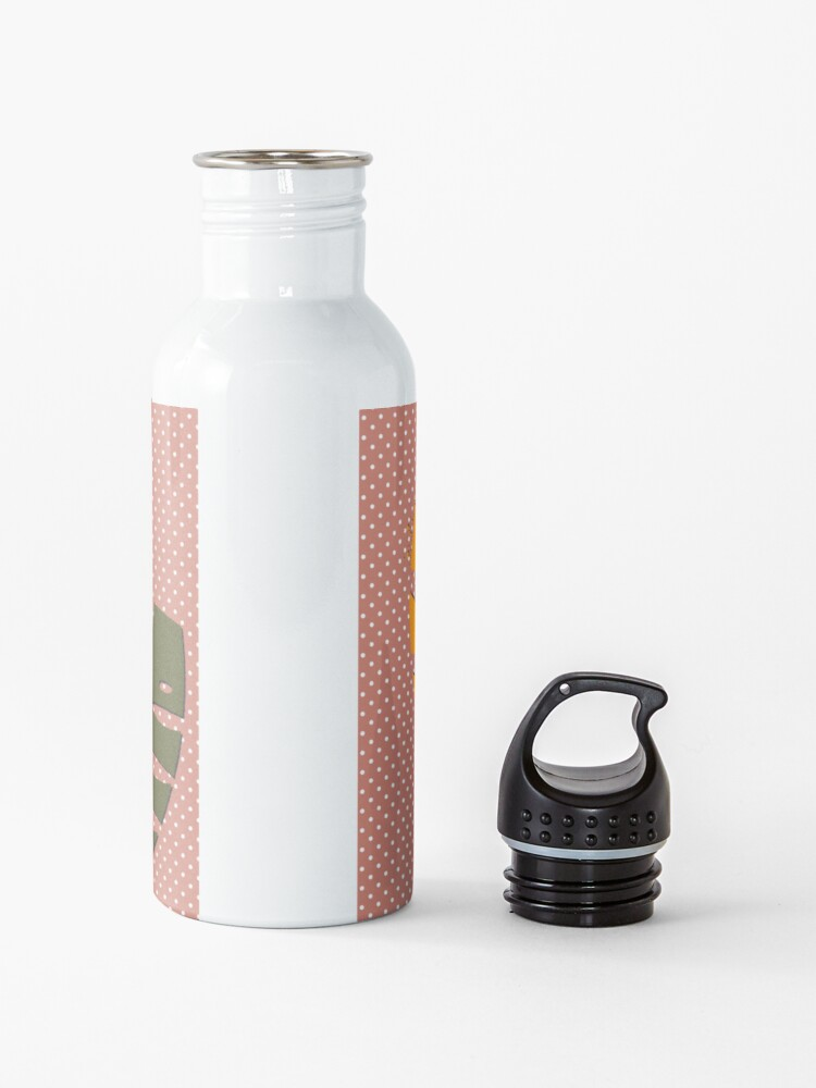 Alternate view of Festival pop art print Water Bottle