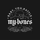 Baby, You Rattle My Bones - Halloween love confession by esztersletters
