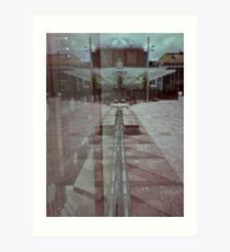 pinhole reflection Art Print