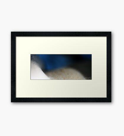Shaping of Sand  Framed Print