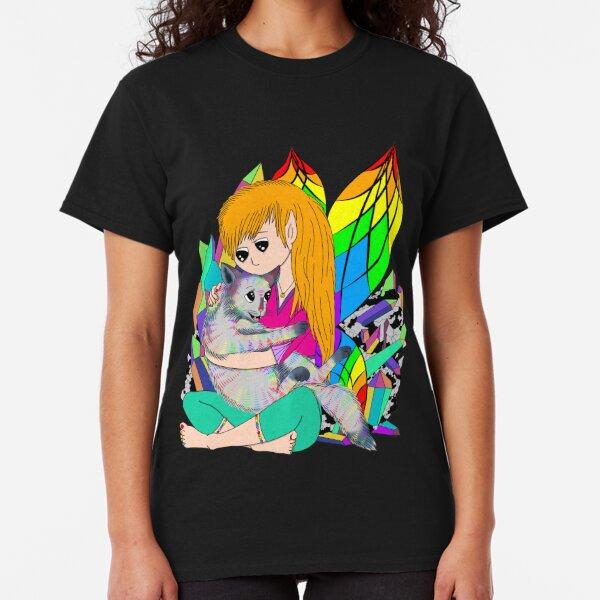Rainbow quartz crystal fairy Classic T-Shirt