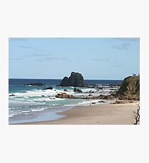 Low Tide at Narooma Surf Beach Photographic Print