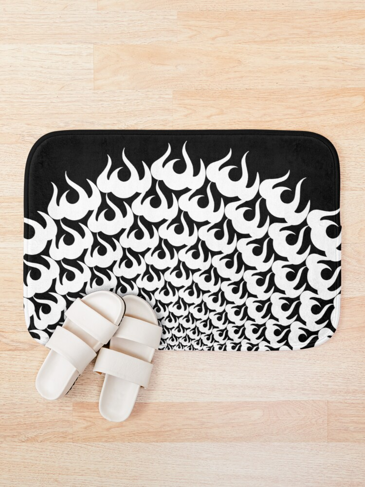 Alternate view of Stoic Fire Vortex - Strength To Fight Back Chaos 1 Bath Mat