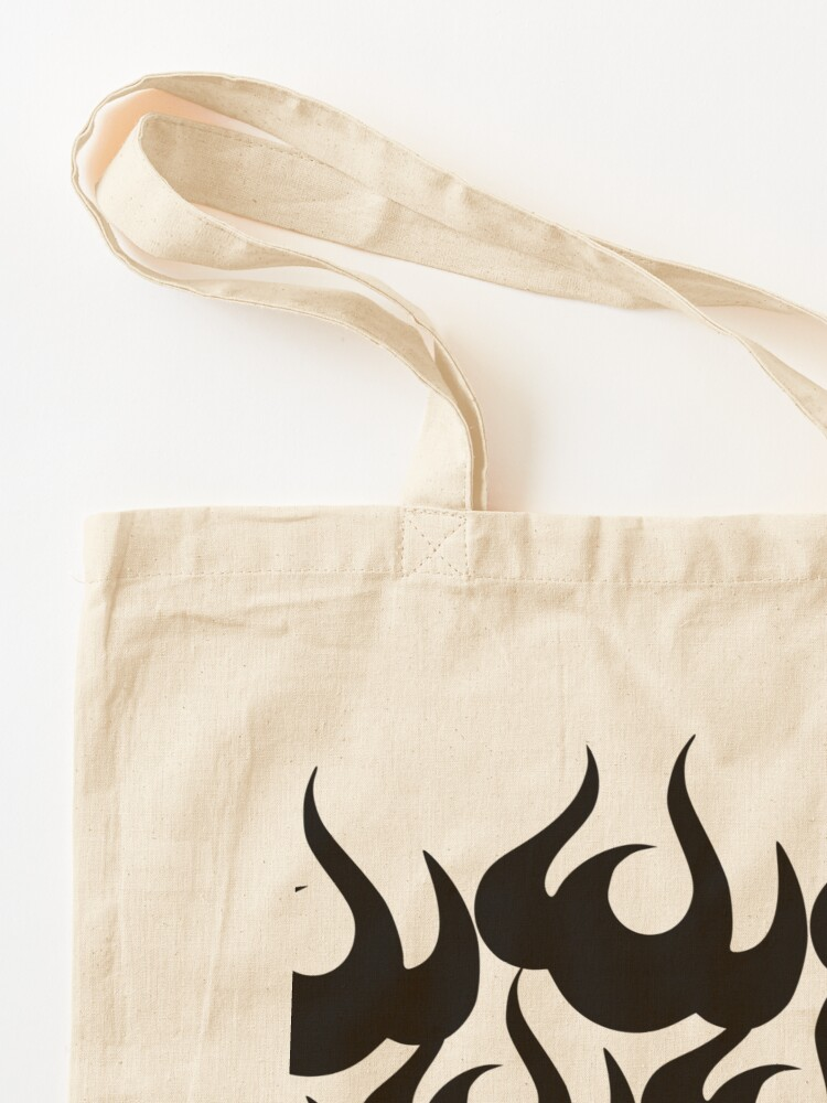 Alternate view of Stoic Fire Vortex - Strength To Fight Back Chaos 1 Tote Bag