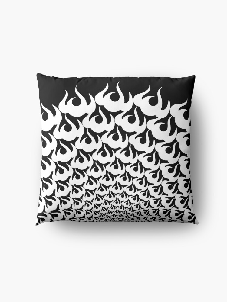 Alternate view of Stoic Fire Vortex - Strength To Fight Back Chaos 1 Floor Pillow