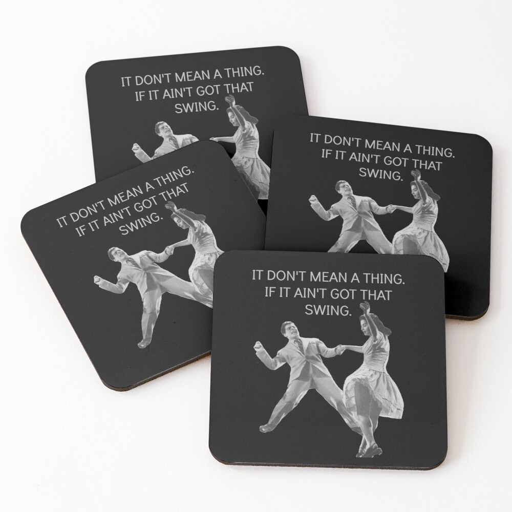 Swing Thing! Coasters (Set of 4)