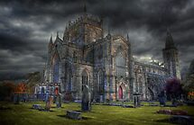 Storm over the Abbey by Paul  Gibb