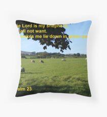 Restful Pastures Throw Pillow