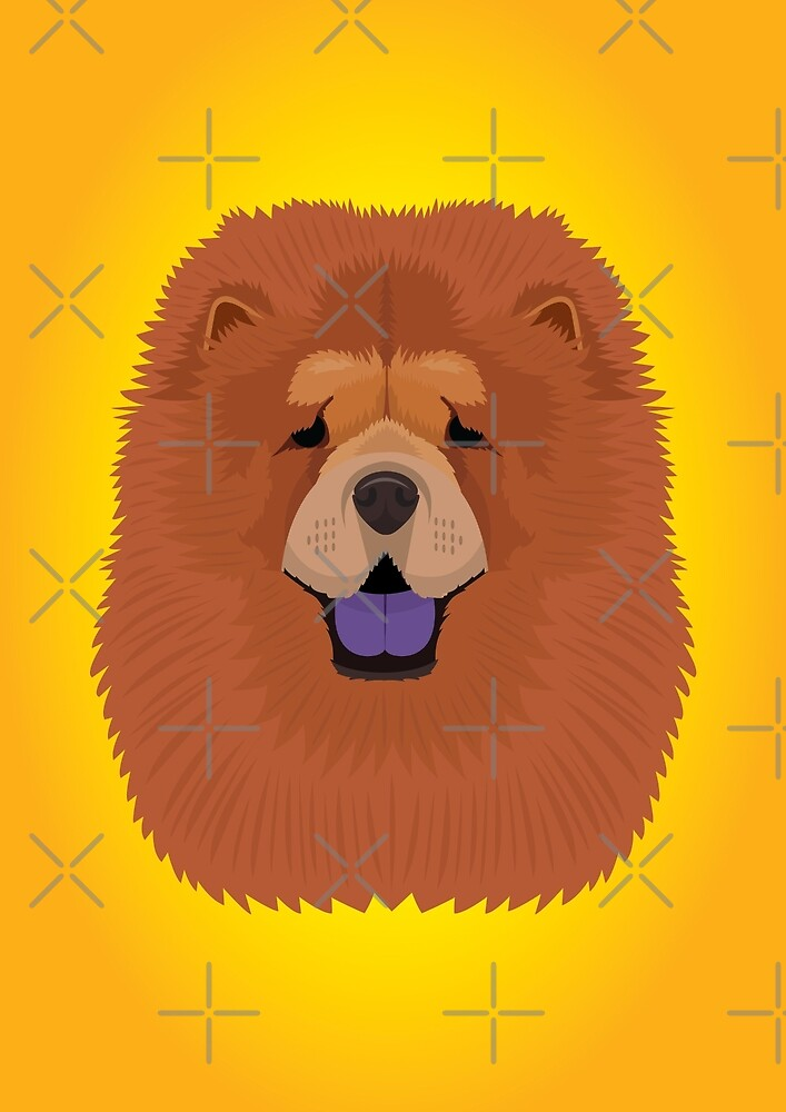 Chow Chow by threeblackdots