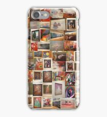 art work collage iPhone Case/Skin