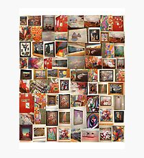 art work collage Photographic Print
