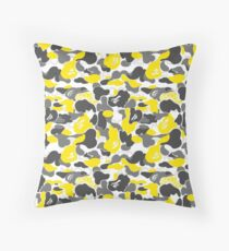 A Bathing Ape Camo | Tee 2 Throw Pillow