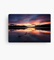 Loch Ness Sunset Canvas Print