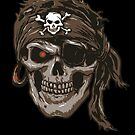 Zombie Pirate with Bandana by StickaBomb