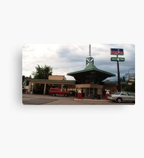 Frank Lloyd Wright Gas station Canvas Print