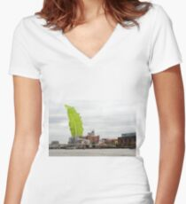 The Chard Women's Fitted V-Neck T-Shirt