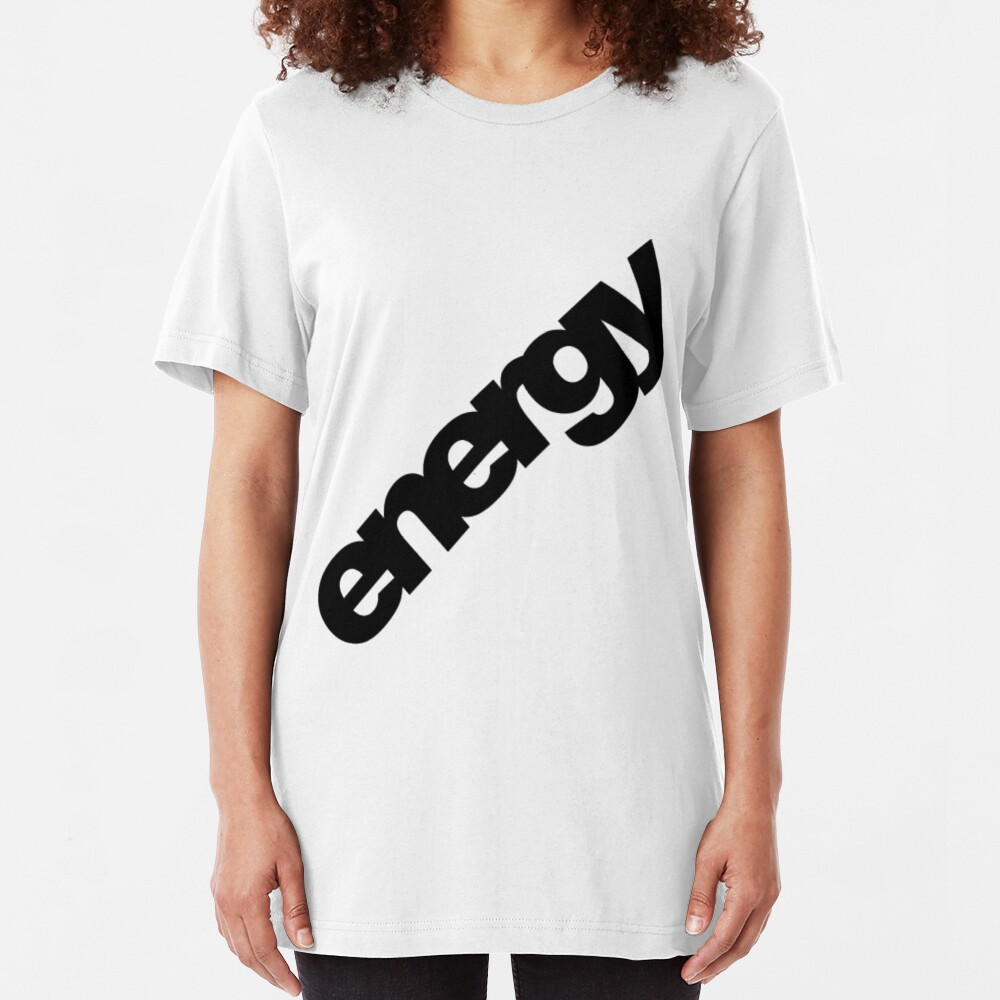 Energy. Slim Fit T-Shirt