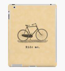 Ride me. iPad Case/Skin