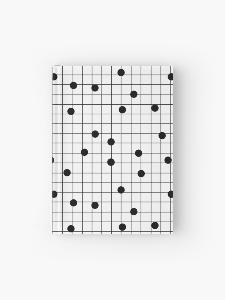 Brooklyn Subway Map Minimal.Dot Grid Map Art Print Black And White Minimal Modern Pop Trendy Urban Brooklyn Design Streets New York City Subway Hardcover Journal