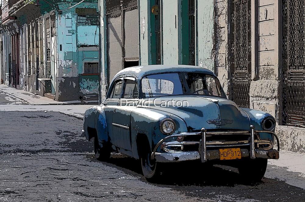 Yank Tank, Havana, Cuba by David Carton