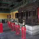 Pavillion interior, Temple of Heaven, Beijing by Philip Mitchell