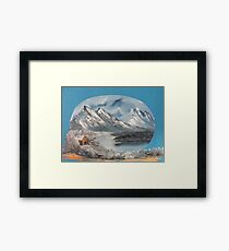 Holiday Cabin Framed Print