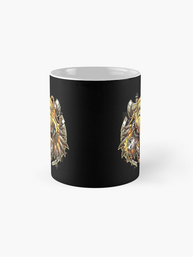 Alternate view of Digitalized Tiger Mug