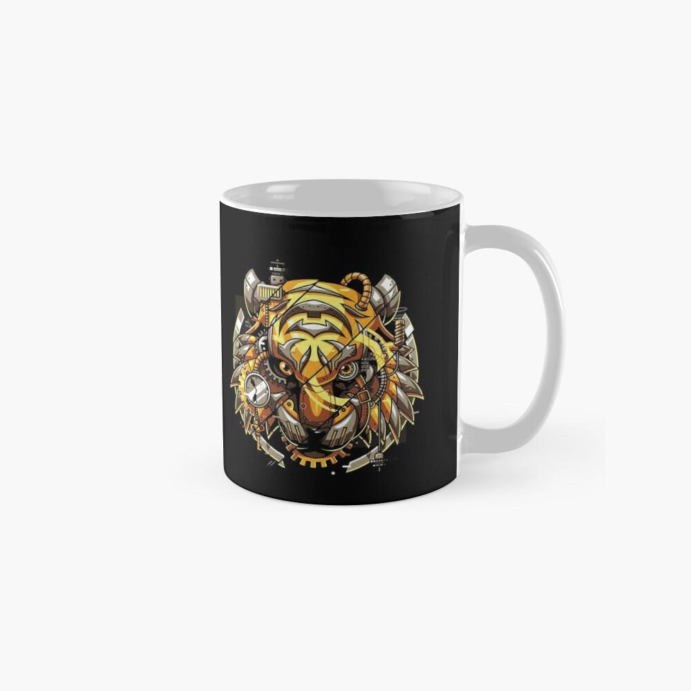 Digitalized Tiger Mug