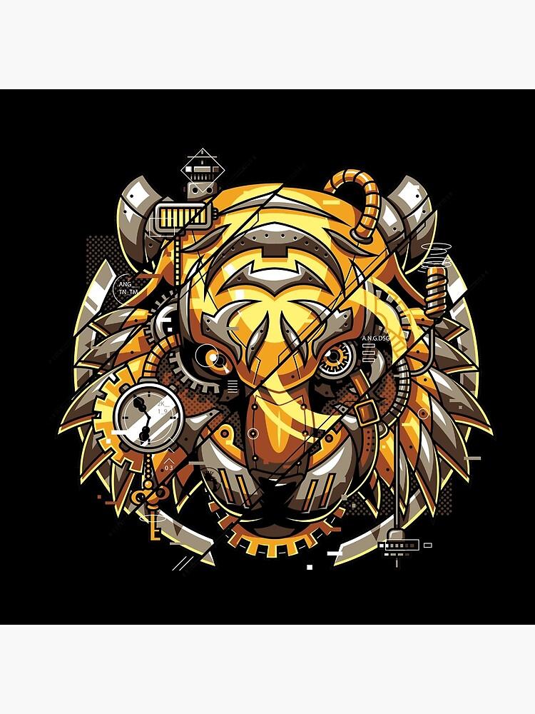 Digitalisierter Tiger von anggatantama