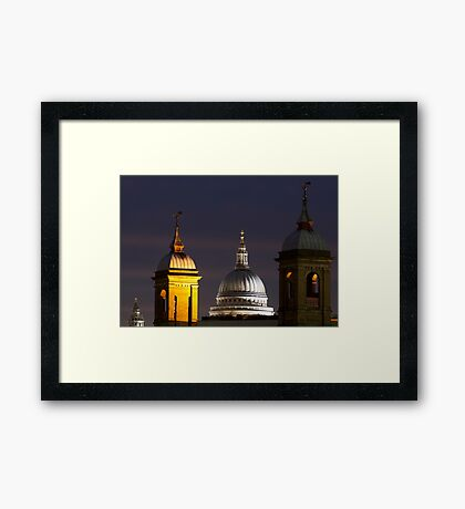 St pauls Dome Framed Print