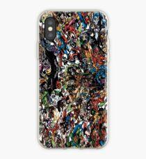 Vinilo o funda para iPhone All Superhero