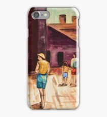 Tourists 1963 iPhone Case/Skin