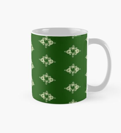 Canal flowers on green Mug