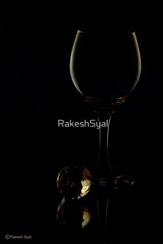 A GLASS OF WINE by RakeshSyal
