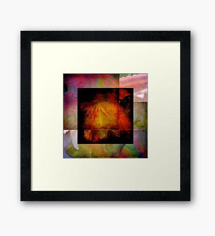 Corners Framed Print