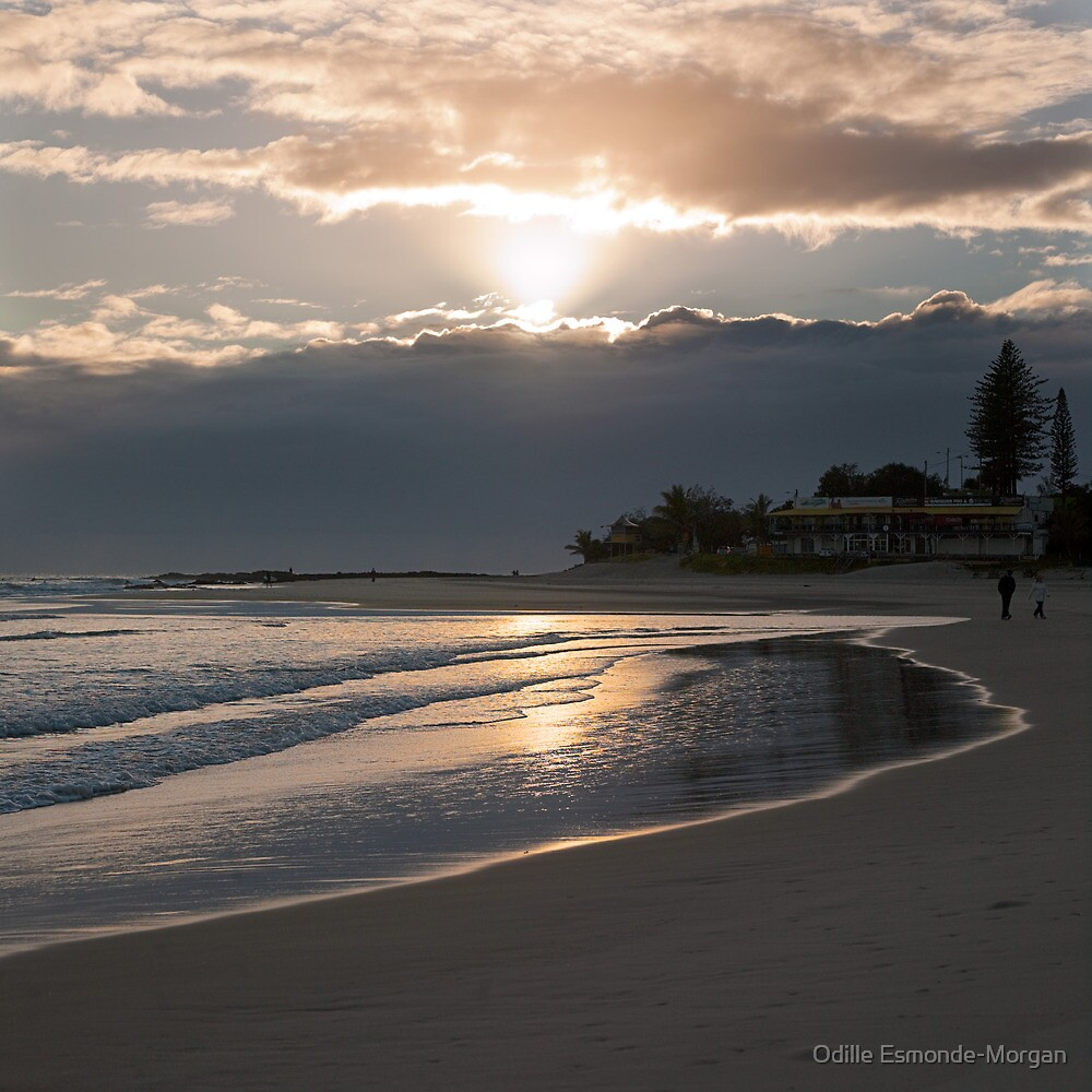 Rainbow Bay sunrise by Odille Esmonde-Morgan