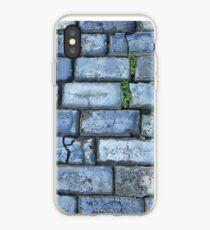 Blue cobblestones iPhone Case