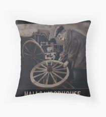 The Wheelwright Inn  Throw Pillow