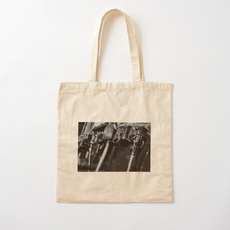 Switches and controls  Cotton Tote Bag