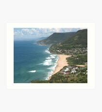 View of Stanwell Park Art Print