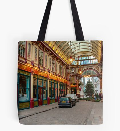 Leadenhall Market: City of London, UK. Tote Bag