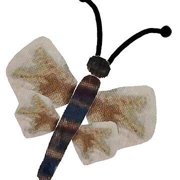 Cross-stitch Butterfly by trudywinn