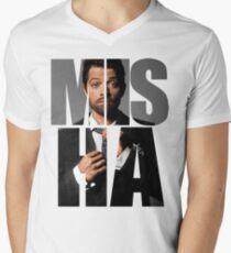 Misha Misha Misha Collins Men's V-Neck T-Shirt