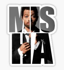 Misha Misha Misha Collins Sticker