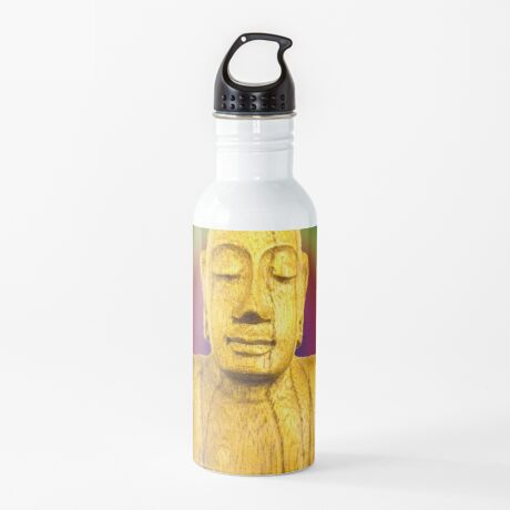 Wooden Budha  Water Bottle
