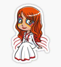 WicDiv Chibi Amaterasu Sticker Sticker