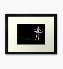 On Stage Framed Print